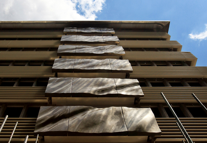45 Park Lane Facade Art Panels, Design by The Office of Thierry Despont, Photograph by Jane Stockdale