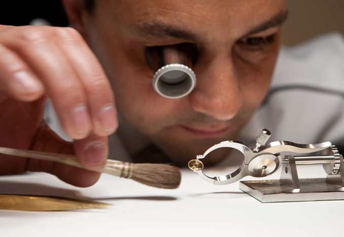 Watchmaker Workshop, Photograph by Valentina Angeloni