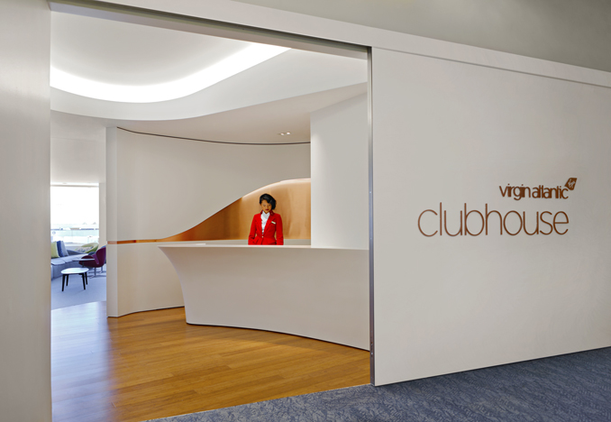Virgin Atlantic LAX Clubhouse, design by SLADE Architecture<br> Photograph by Tom Sibley