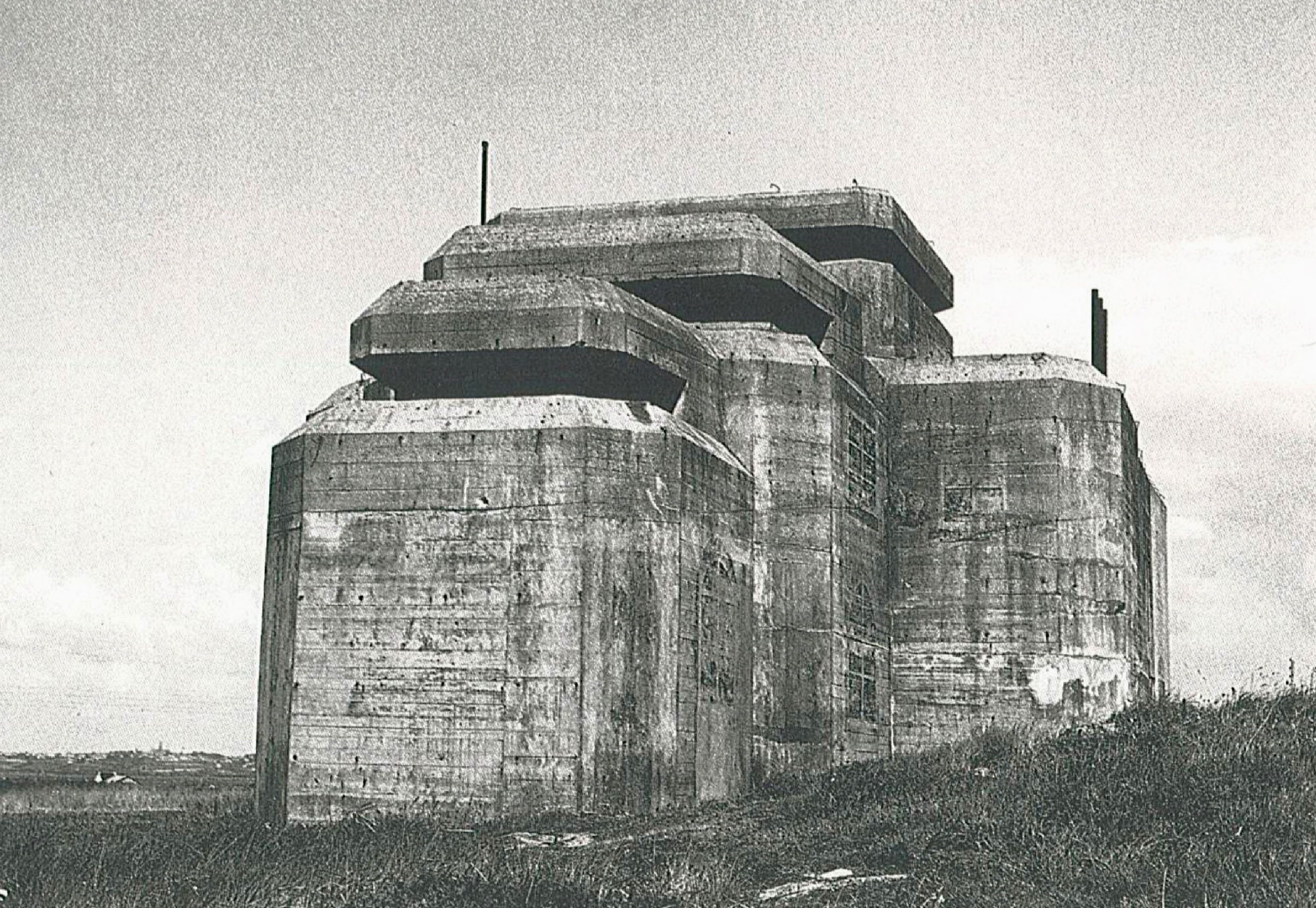 Reference photograph of WWII Bunker