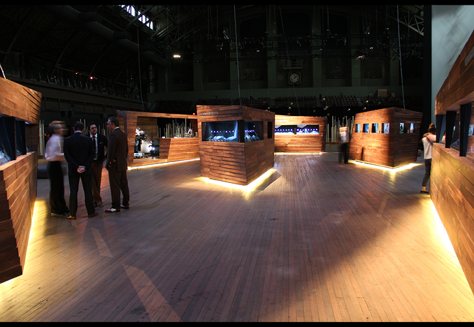 Exhibition at the Park Avenue Armory, NYC