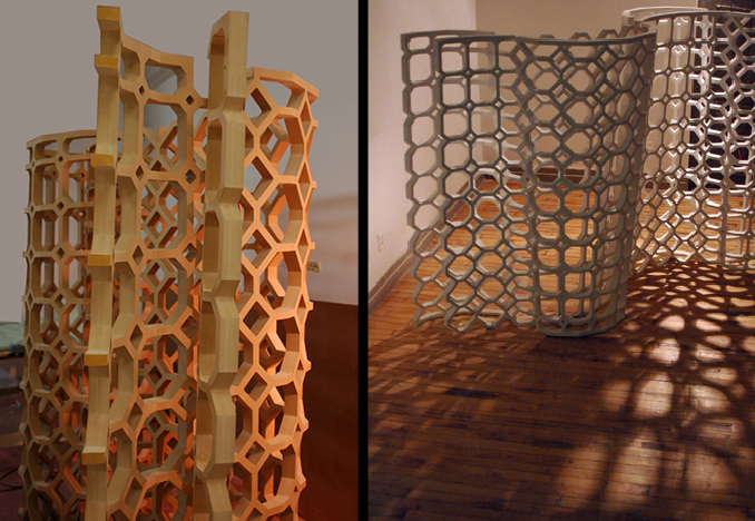 Weave screen, Images courtesy of Fiyel Levent Atelier</br>