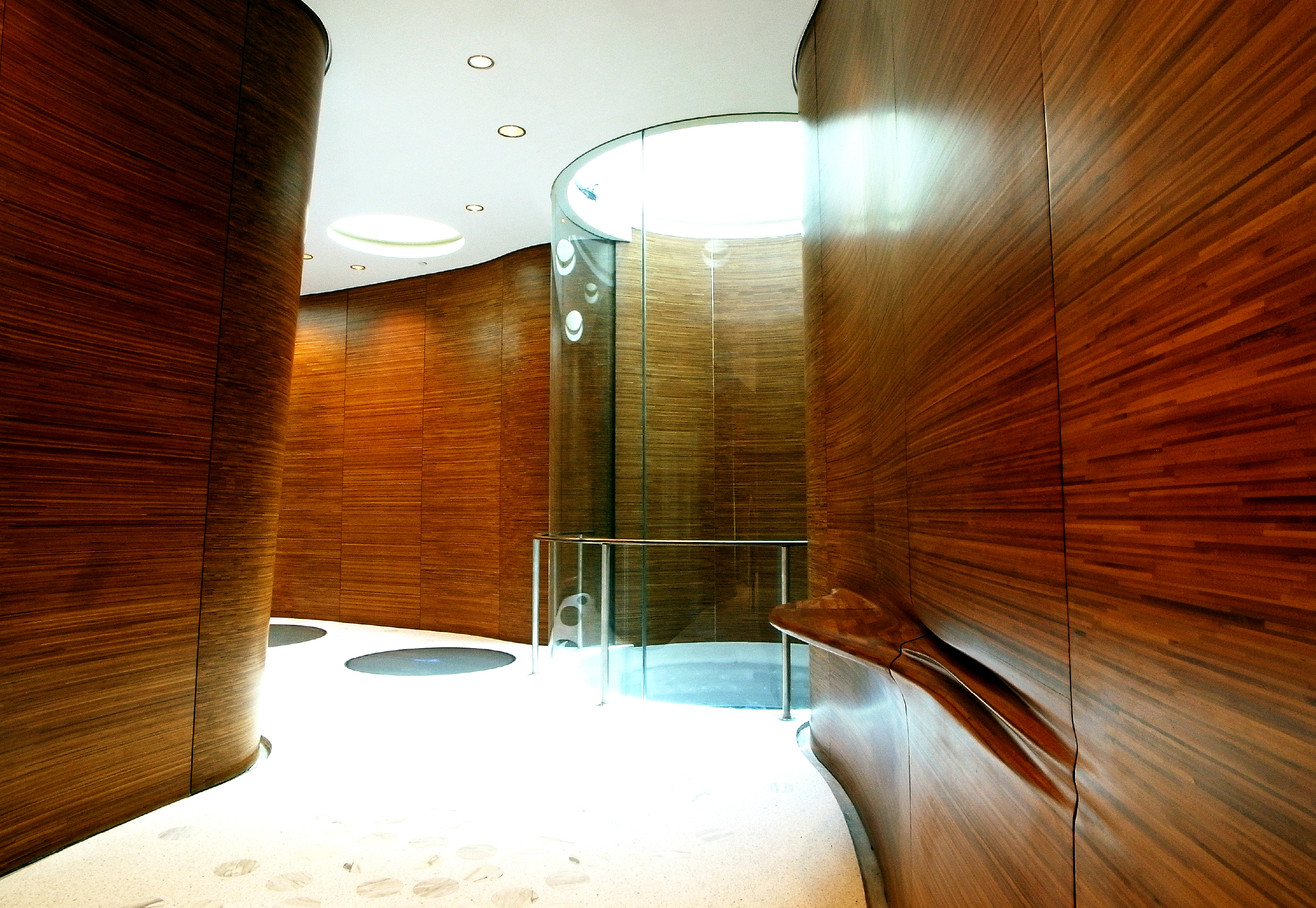 One Jackson Square Lobby, design by KPF Associates