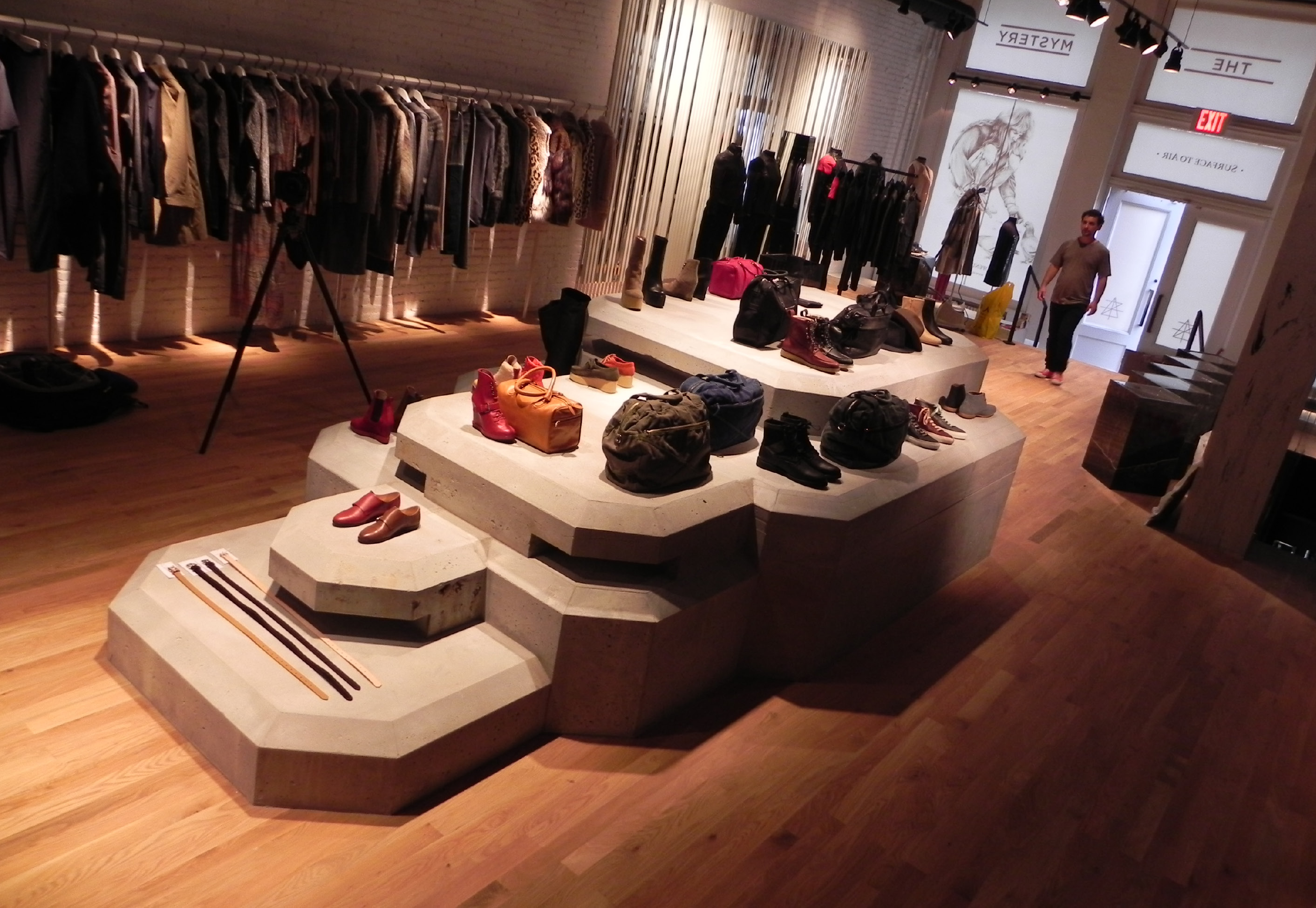 Surface to Air, New York Flagship Store